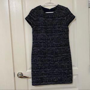Banana Republic Navy Tweed Dress Size0